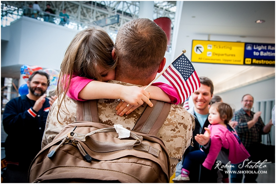 3c8e4011f6d Baltimore Military Homecoming Photographer - BWI Airport ...