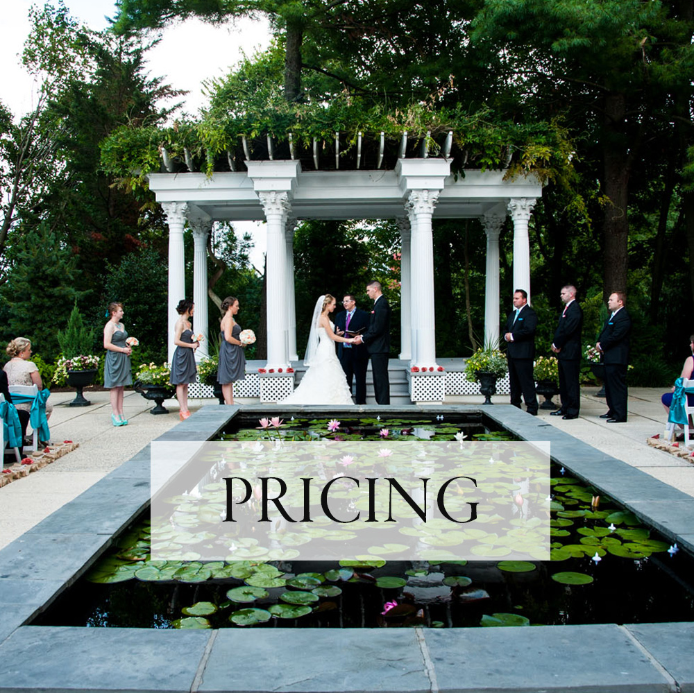 Washington DC Weddings - Pricing